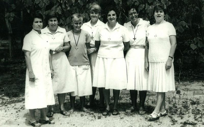 Hermanas españolas en Tounonma, Bobo Isso, (Burkina Faso, años 70).
