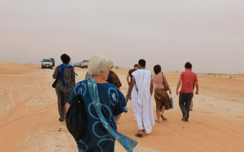 Adoración Bolívar en Mauritania (2011)