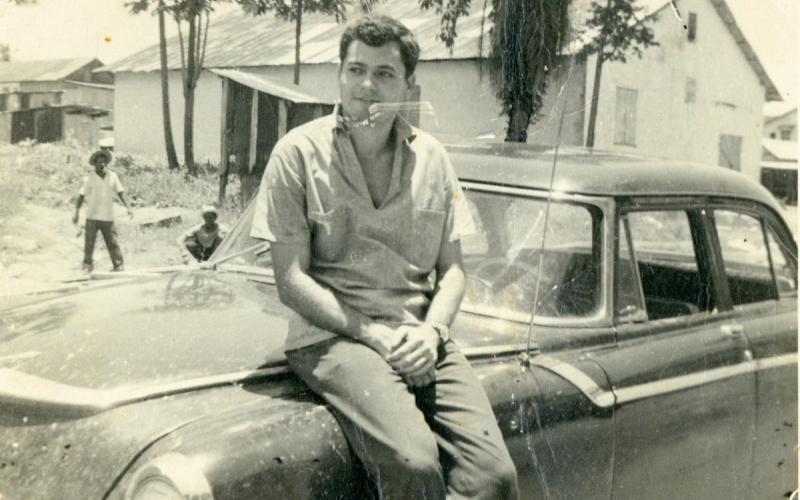 Antonio Medina en Grand Bassa (1962)