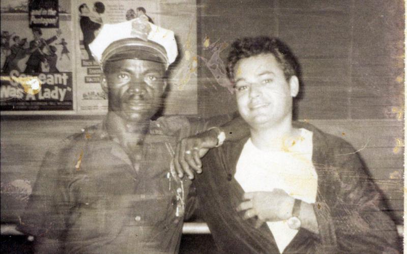 Antonio Medina, a finales de los años 60