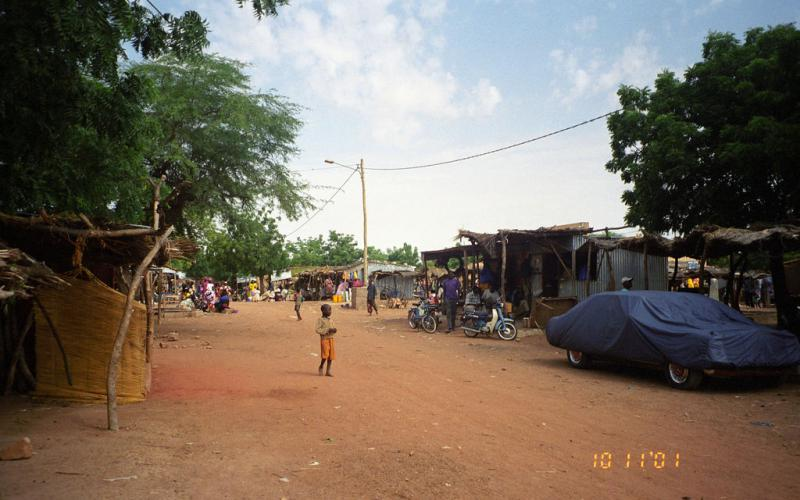 Pueblo de Bandiagara en 2001 (Imagen: upyernoz/Flickr)