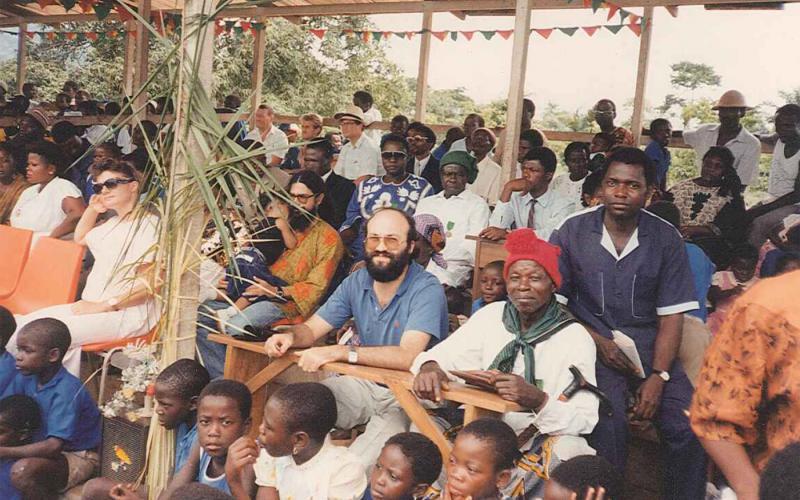 Celebración popular en Nguti, (Camerún, 1991)
