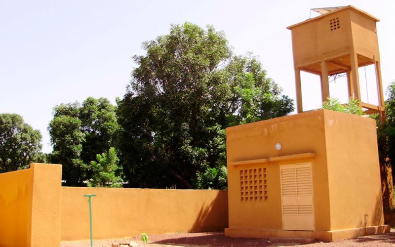 Construcción de pozo alimentado con energía solar (Touba, Senegal)