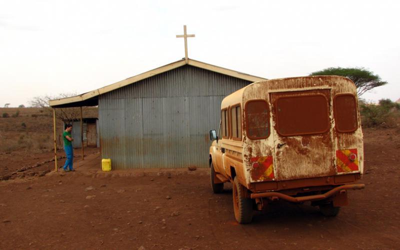 Visita a una capilla borana