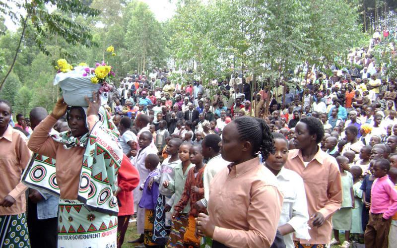 Imagen de Masimba, al suroeste de Kenia