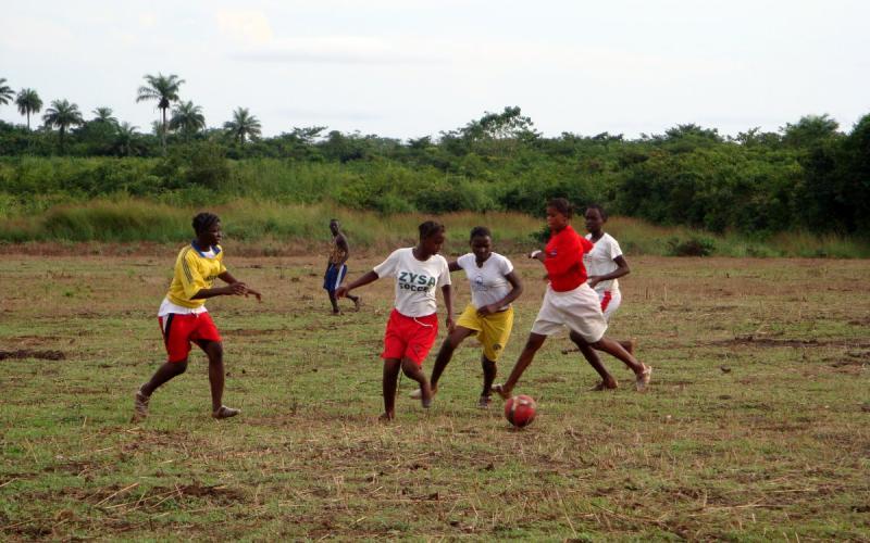 Equipo de fútbol creado por Chema Caballero como método para la reconciliación