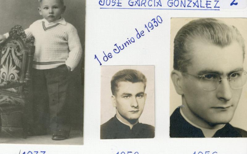 José García en 1933, 1950 y 1956