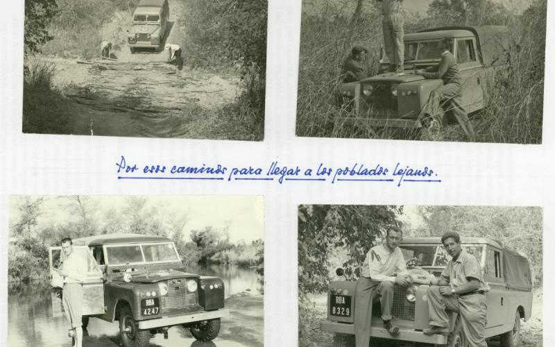 Álbum de fotos personal. Rodesia (finales de los años 50)