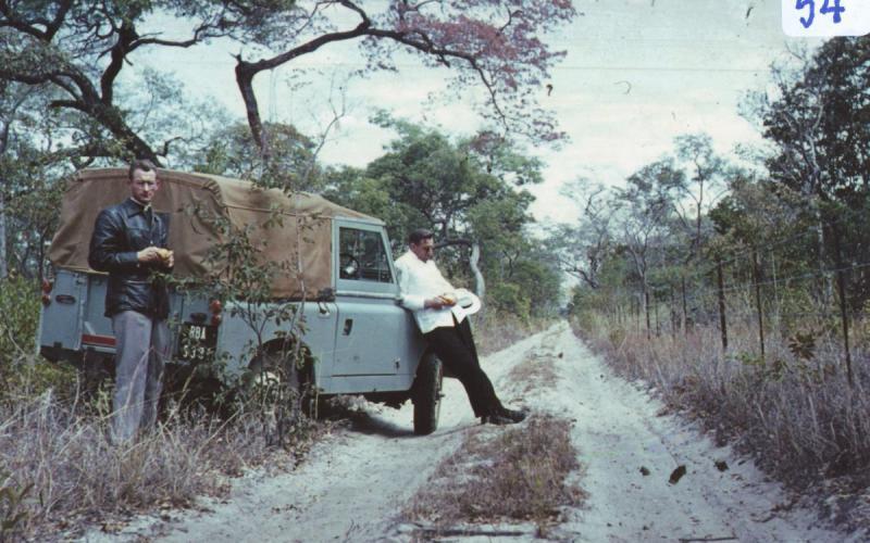 Álbum de fotos personal. Rodesia (años 60)