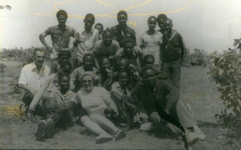 Primeros años en Burkina Faso (años 60)