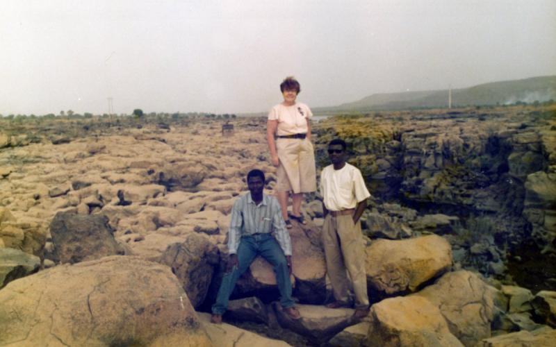 Julia Inmaculada, cerca de Sotuba (Mali, 1991)