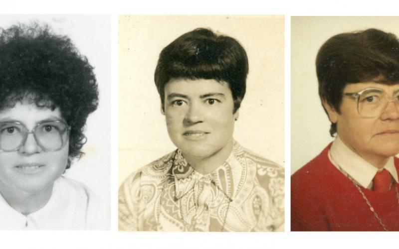 Julia Inmaculada, en los años 1970, 1982 y 1990