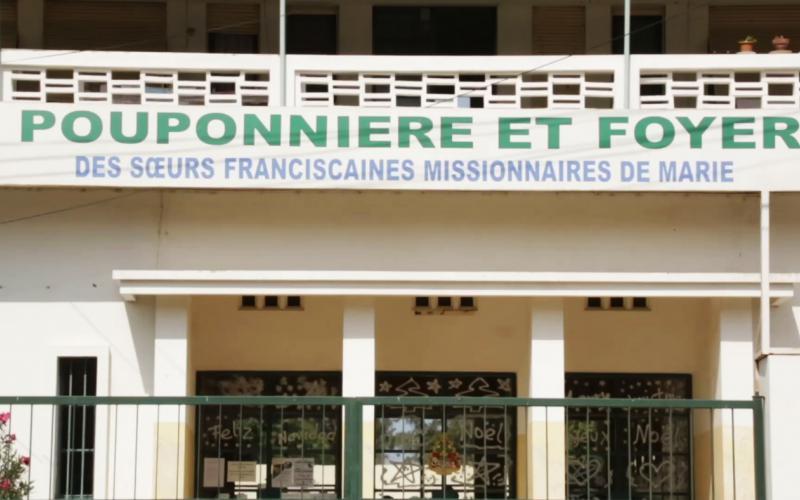 Entrada a la Pouponnière de Dakar (2014)