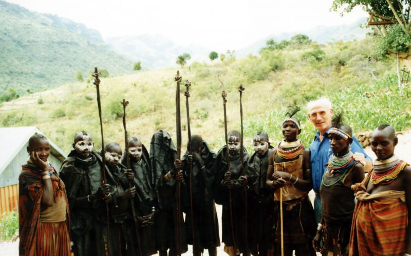 Lázaro Bustince en Uganda