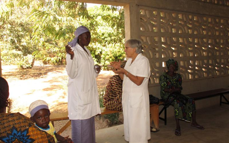Centro asistencial sobre sida