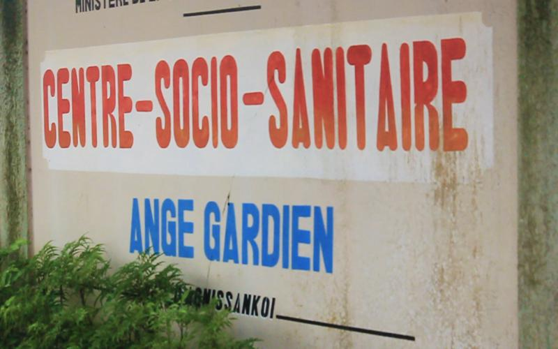 Maternidad de Abobo donde trabaja actualmente Amparo Morrondo (Abiyán, Costa de Marfil)