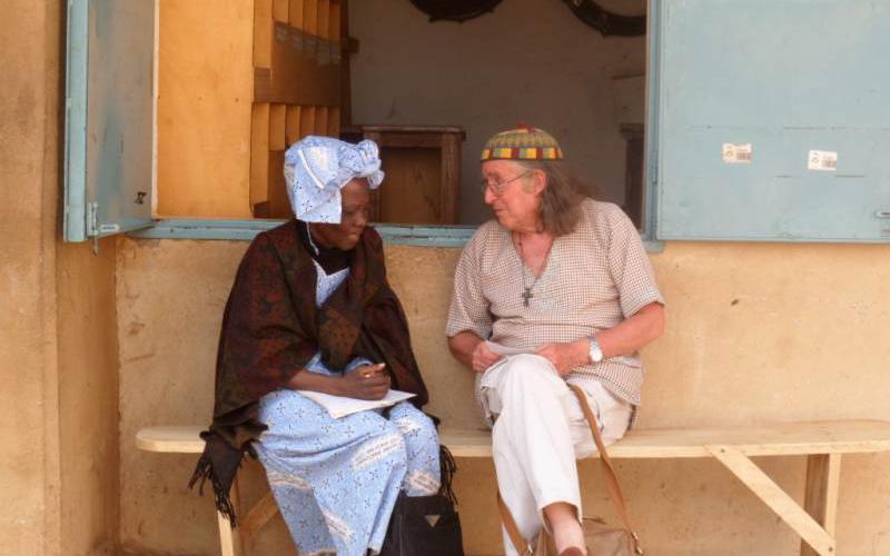 Saturnino Fraile en Burkina Faso