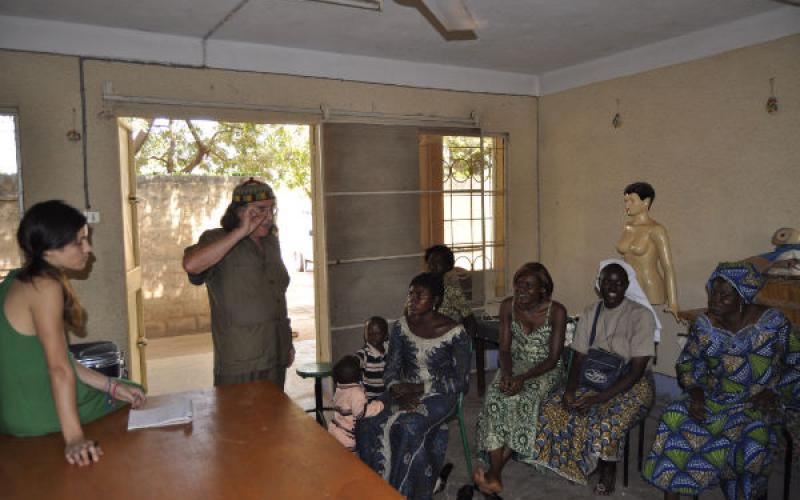 Taller de moda en Burkina Faso